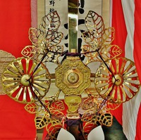 剣鉾・顔面カタログ 「須賀神社(西天王) 菊鉾 奥井氏守護 」
