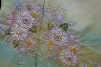 辻が花の色留袖