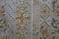 スワトウ刺繍の着尺