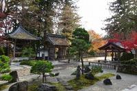 長安寺の四十九燈の庭