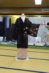 シースルー絵羽コート