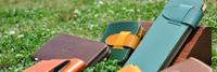 カラーオーダーメイドのできる革小物:差し込み式ボックス名刺ケース