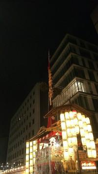 祇園祭の宵山 長刀鉾