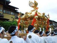 5月13日~15日 宮津祭 神楽 浮太鼓 神輿