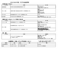 京都産業大学公認団体の大会結果および活動予定