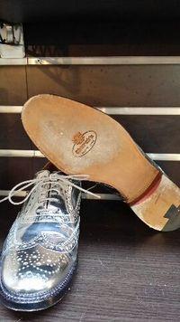 靴のすべり止めハーフラバー CHURCH