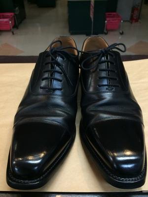 京都 靴磨き ハイシャイン