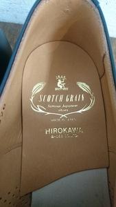 「SCOTCH GRAIN」 スコッチグレイン新品靴に。