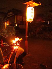 八大神社 5月4日 宵宮・剣鉾の組立調整