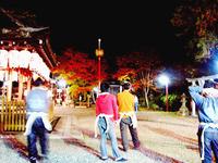 粟田神社剣鉾の鉾差し練習会11/28〜2007差し納め