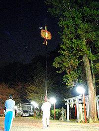 粟田神社 剣鉾の鉾差し練習会~初参加の巻