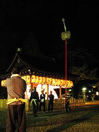 粟田神社・剣鉾練習会21年度もラスツー!