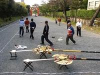 吉田今宮社「天皇陛下御即位二十年奉祝京都大会」練習