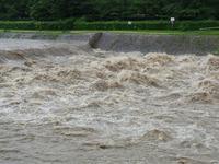 豪雨と賀茂川