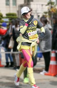 愛のリレー♪ 「第31回 京都チャリティー・ファンラン」 (^_-)-☆