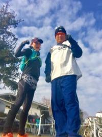 京都マラソン目前!強化ラン練習☆彡