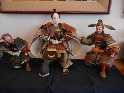 明治時代の武者人形