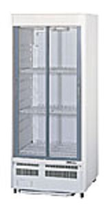 鉄板焼き屋様への冷蔵ショーケース