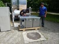 兵庫県への台下冷蔵庫