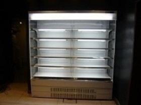自然食品店様への多段オープン冷蔵ショーケース