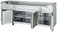 舟形シンク付き台下冷蔵庫