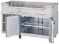 鮮魚店様への船形台下冷蔵庫