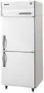 広島への業務用2ドア冷凍庫