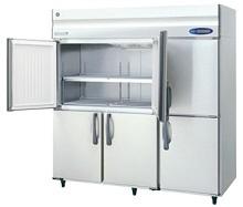 広島への業務用6ドア冷凍庫