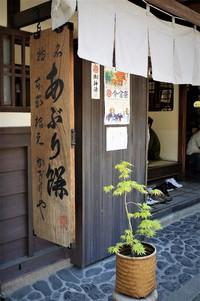 今宮神社門前の新緑
