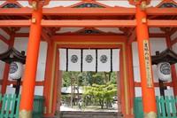 新緑の今宮神社界隈