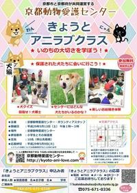 きょうとアニラブクラス@京都動物愛護センター