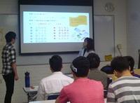 「日本語教育実習Ⅲ」成果報告会を実施しました3