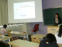 マイナビ・スタッフさんによる特別講義 ―日本語コミュニケーションⅢの授業