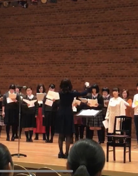 京都府合唱連盟 学生指揮者コンテストで学科生が金賞を受賞しました