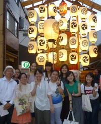 祇園祭に行ってきました ―3年次生「専門演習」クラス