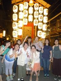 祇園祭に行ってきました6 ―3年次生「専門演習」クラス〈終〉