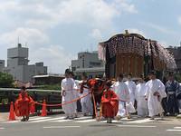 葵祭 斎王代と警備ボランティア 2016年の思い出