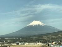 新年の富士山