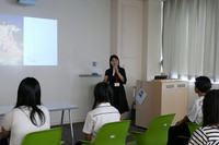 オープンキャンパスで模擬授業をしました(8月20日)