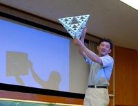 立木先生の立体パズル教育の原点はノートルダムでの授業!