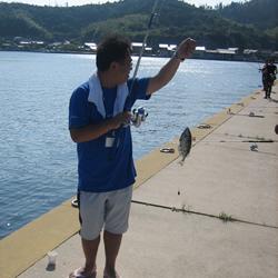 【海士】釣り。
