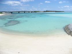 伊平屋島の米崎海岸