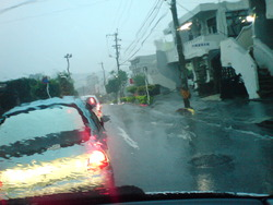 大雨 沖縄