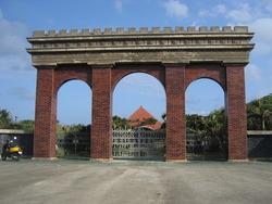与那国島の凱旋門