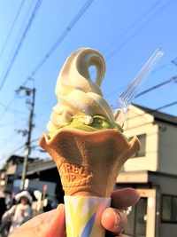 5/20(土) ≪ 白味噌&抹茶ダブルソフトクリーム ≫ Hana アイス