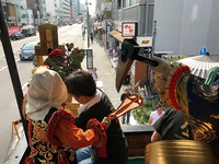 7/17(月祝) 郭巨山 ≪ 祇園祭・前祭 山鉾巡行の準備 ≫