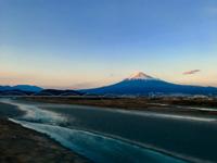 2/8(木) 《  夕景の富士山  》