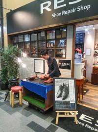 RESH.×靴磨き専門店Mottye