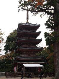 10月27日 国宝五重塔の海住山寺と聖武天皇ゆかりの恭仁京