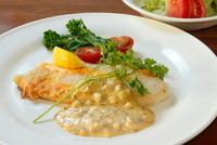 白身魚のヘルーシ料理登場